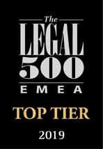 emea top tier firms 2019